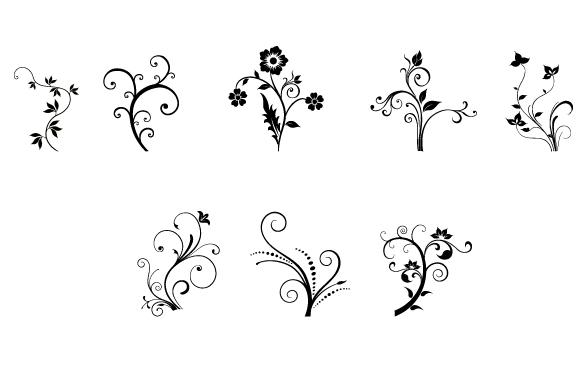 10-floral-swirls
